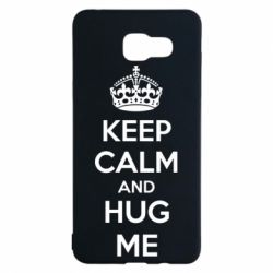 Чохол для Samsung A5 2016 KEEP CALM and HUG ME