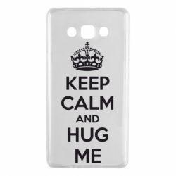Чохол для Samsung A7 2015 KEEP CALM and HUG ME