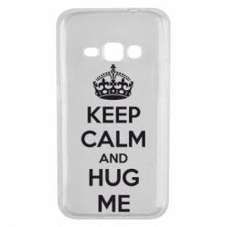 Чохол для Samsung J1 2016 KEEP CALM and HUG ME