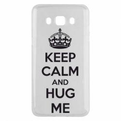 Чохол для Samsung J5 2016 KEEP CALM and HUG ME