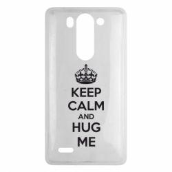 Чехол для LG G3 mini/G3s KEEP CALM and HUG ME - FatLine