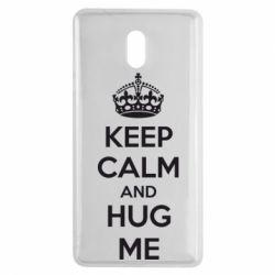 Чехол для Nokia 3 KEEP CALM and HUG ME - FatLine