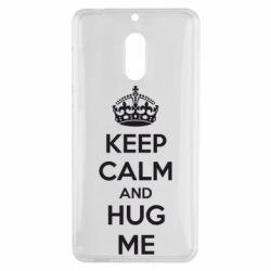 Чехол для Nokia 6 KEEP CALM and HUG ME - FatLine