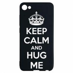 Чехол для Meizu U10 KEEP CALM and HUG ME - FatLine