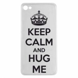 Чехол для Meizu U20 KEEP CALM and HUG ME - FatLine