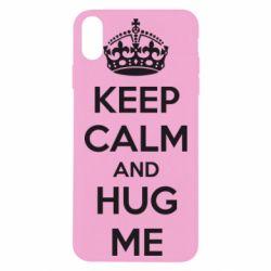 Чохол для iPhone Xs Max KEEP CALM and HUG ME