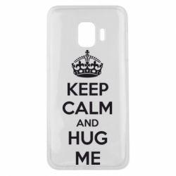 Чохол для Samsung J2 Core KEEP CALM and HUG ME