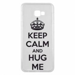 Чохол для Samsung J4 Plus 2018 KEEP CALM and HUG ME