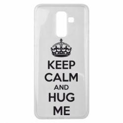 Чохол для Samsung J8 2018 KEEP CALM and HUG ME