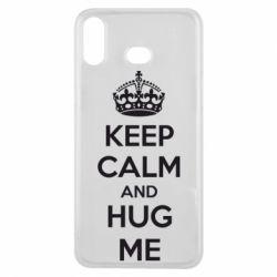 Чохол для Samsung A6s KEEP CALM and HUG ME