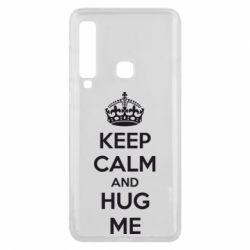 Чохол для Samsung A9 2018 KEEP CALM and HUG ME