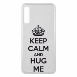Чохол для Samsung A7 2018 KEEP CALM and HUG ME