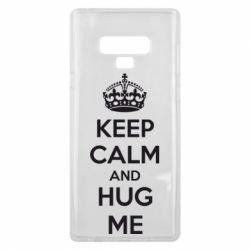 Чохол для Samsung Note 9 KEEP CALM and HUG ME