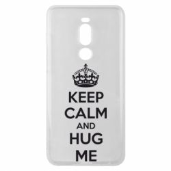 Чехол для Meizu Note 8 KEEP CALM and HUG ME - FatLine