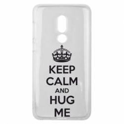 Чехол для Meizu V8 KEEP CALM and HUG ME - FatLine