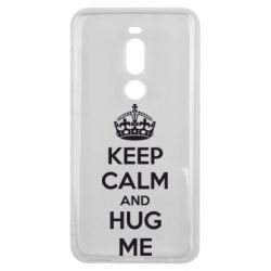 Чехол для Meizu V8 Pro KEEP CALM and HUG ME - FatLine