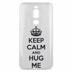 Чехол для Meizu X8 KEEP CALM and HUG ME - FatLine