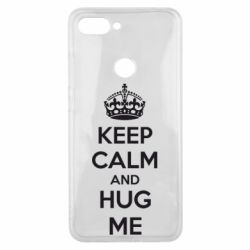 Чохол для Xiaomi Mi8 Lite KEEP CALM and HUG ME