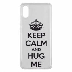 Чехол для Xiaomi Mi8 Pro KEEP CALM and HUG ME - FatLine