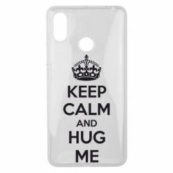 Чехол для Xiaomi Mi Max 3 KEEP CALM and HUG ME - FatLine