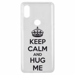 Чехол для Xiaomi Mi Mix 3 KEEP CALM and HUG ME - FatLine