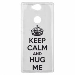 Чехол для Sony Xperia XA2 Plus KEEP CALM and HUG ME - FatLine