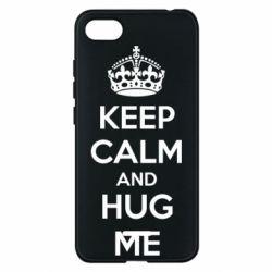 Чехол для Xiaomi Redmi 6A KEEP CALM and HUG ME - FatLine