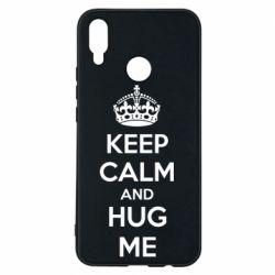 Чехол для Huawei P Smart Plus KEEP CALM and HUG ME - FatLine