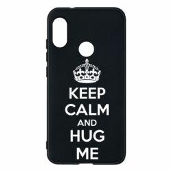 Чехол для Mi A2 Lite KEEP CALM and HUG ME - FatLine