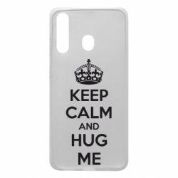 Чохол для Samsung A60 KEEP CALM and HUG ME