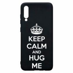 Чохол для Samsung A70 KEEP CALM and HUG ME