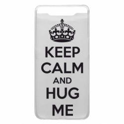 Чохол для Samsung A80 KEEP CALM and HUG ME