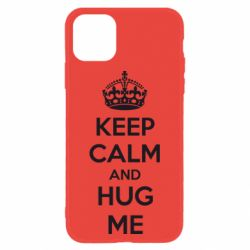Чохол для iPhone 11 KEEP CALM and HUG ME