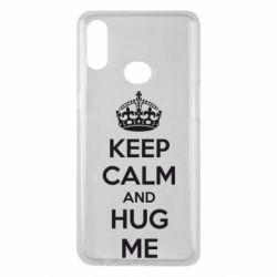 Чохол для Samsung A10s KEEP CALM and HUG ME