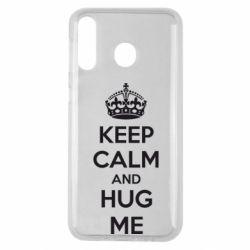 Чохол для Samsung M30 KEEP CALM and HUG ME