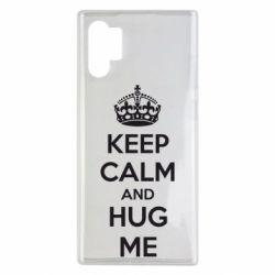Чохол для Samsung Note 10 Plus KEEP CALM and HUG ME