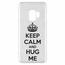 Чохол для Samsung S9 KEEP CALM and HUG ME