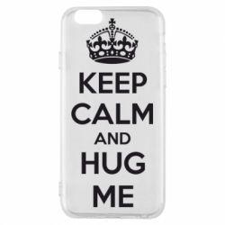 Чохол для iPhone 6/6S KEEP CALM and HUG ME