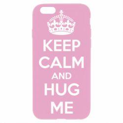 Чохол для iPhone 6 Plus/6S Plus KEEP CALM and HUG ME