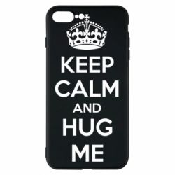 Чохол для iPhone 7 Plus KEEP CALM and HUG ME