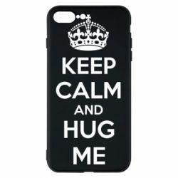 Чохол для iPhone 8 Plus KEEP CALM and HUG ME