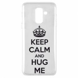Чохол для Samsung A6+ 2018 KEEP CALM and HUG ME