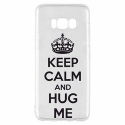 Чохол для Samsung S8 KEEP CALM and HUG ME