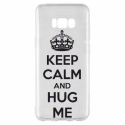Чохол для Samsung S8+ KEEP CALM and HUG ME