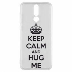 Чехол для Huawei Mate 10 Lite KEEP CALM and HUG ME - FatLine