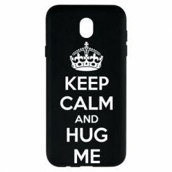 Чохол для Samsung J7 2017 KEEP CALM and HUG ME