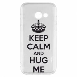 Чохол для Samsung A3 2017 KEEP CALM and HUG ME