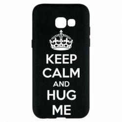 Чохол для Samsung A5 2017 KEEP CALM and HUG ME