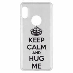 Чехол для Xiaomi Redmi Note 5 KEEP CALM and HUG ME - FatLine
