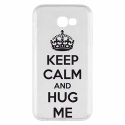 Чохол для Samsung A7 2017 KEEP CALM and HUG ME